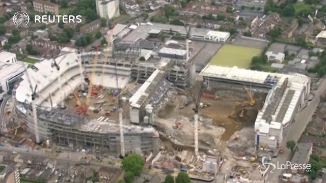 Tottenham, nuovo stadio pronto per la stagione 2018/19