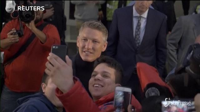 Chicago, fan in delirio per Schweinsteiger