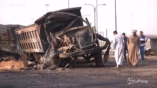 Baghdad: esplode camion bomba, almeno 17 morti e più di 60 feriti
