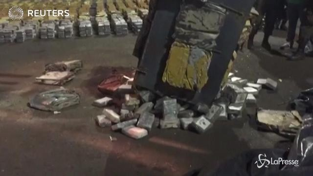 Colombia, sequestrate 6 tonnellate di cocaina