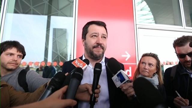 VIDEO Salvini: I missili americani non sono risposta intelligente