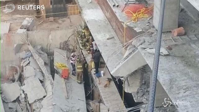 Messico, cede edificio in costruzione: almeno 6 operai morti
