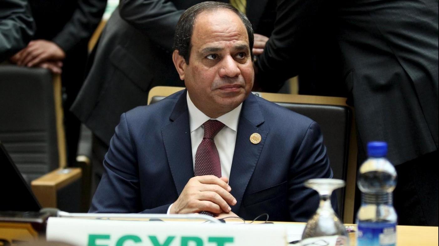 Regeni, al Sisi: Noi egiziani abbiano creato problema, ma non le forze di sicurezza