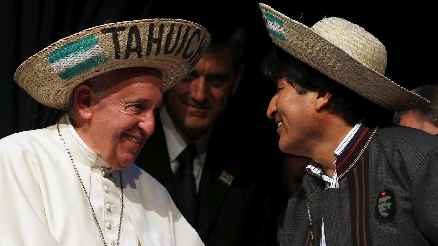 Evo Morales consiglia al Papa di prendere la coca