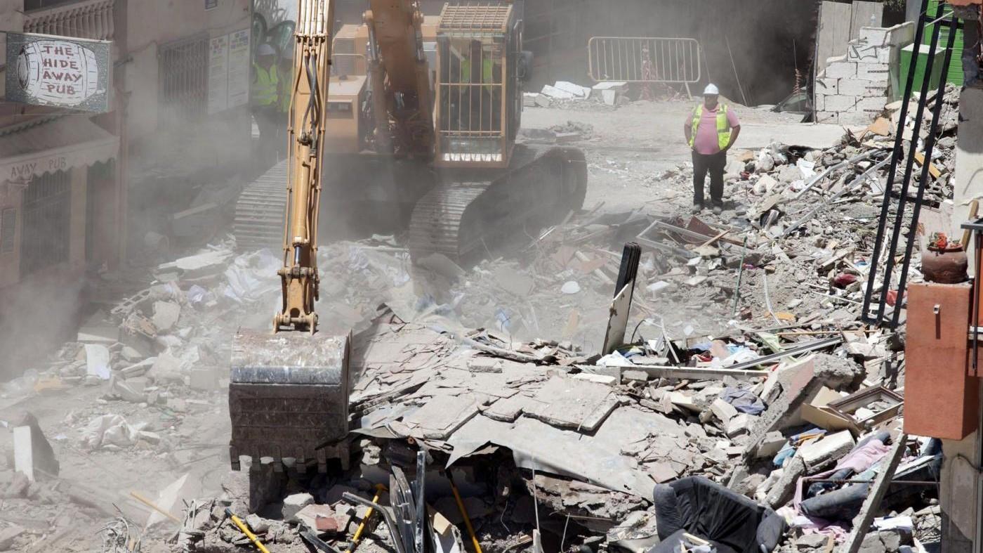 Spagna, anche 2 italiani tra le vittime del crollo a Tenerife