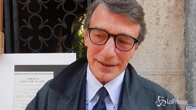 VIDEO Umberto Gentiloni Silveri presenta il suo ultimo libro