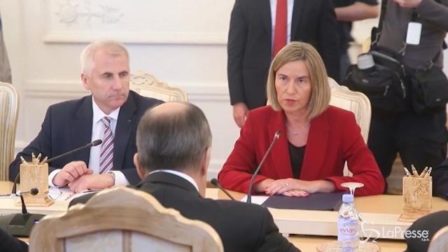 """""""Congelata"""" la cooperazione fra Ue e Russia"""