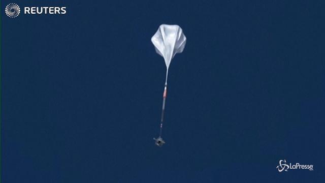 Nuova Zelanda, il volo della mongolfiera Nasa