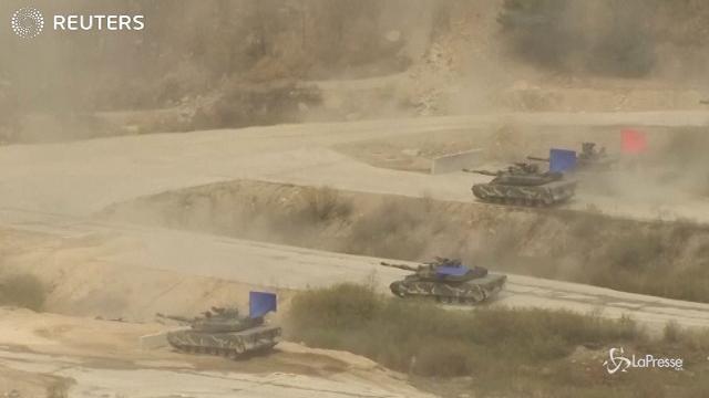 Corea del Sud, esercitazioni delle truppe Usa e di Seul