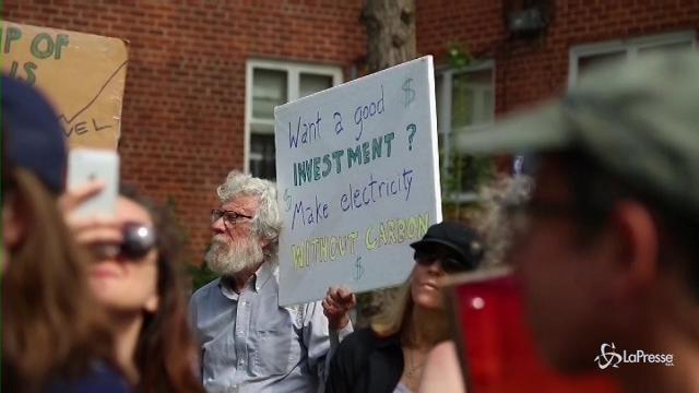 New York, una marcia in difesa del clima
