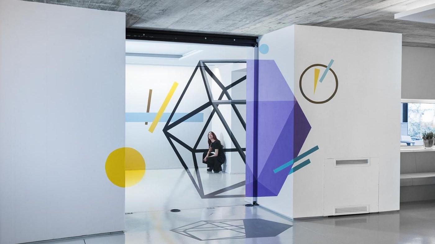 Gli anamorfismi di Truly Design al Museo Ettore Fico di Torino