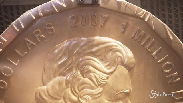 Rubata a Berlino la moneta d'oro più grande del mondo