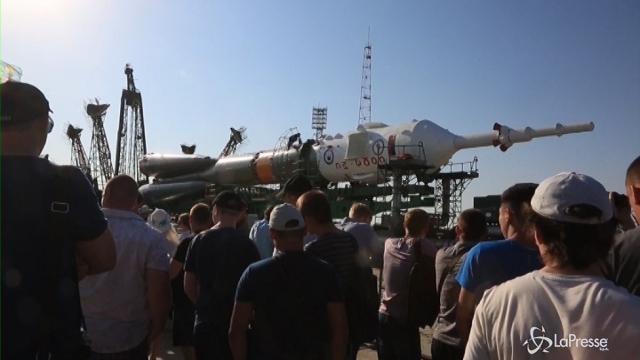 Grandi preparativi in Kazakistan per il lancio della Soyuz