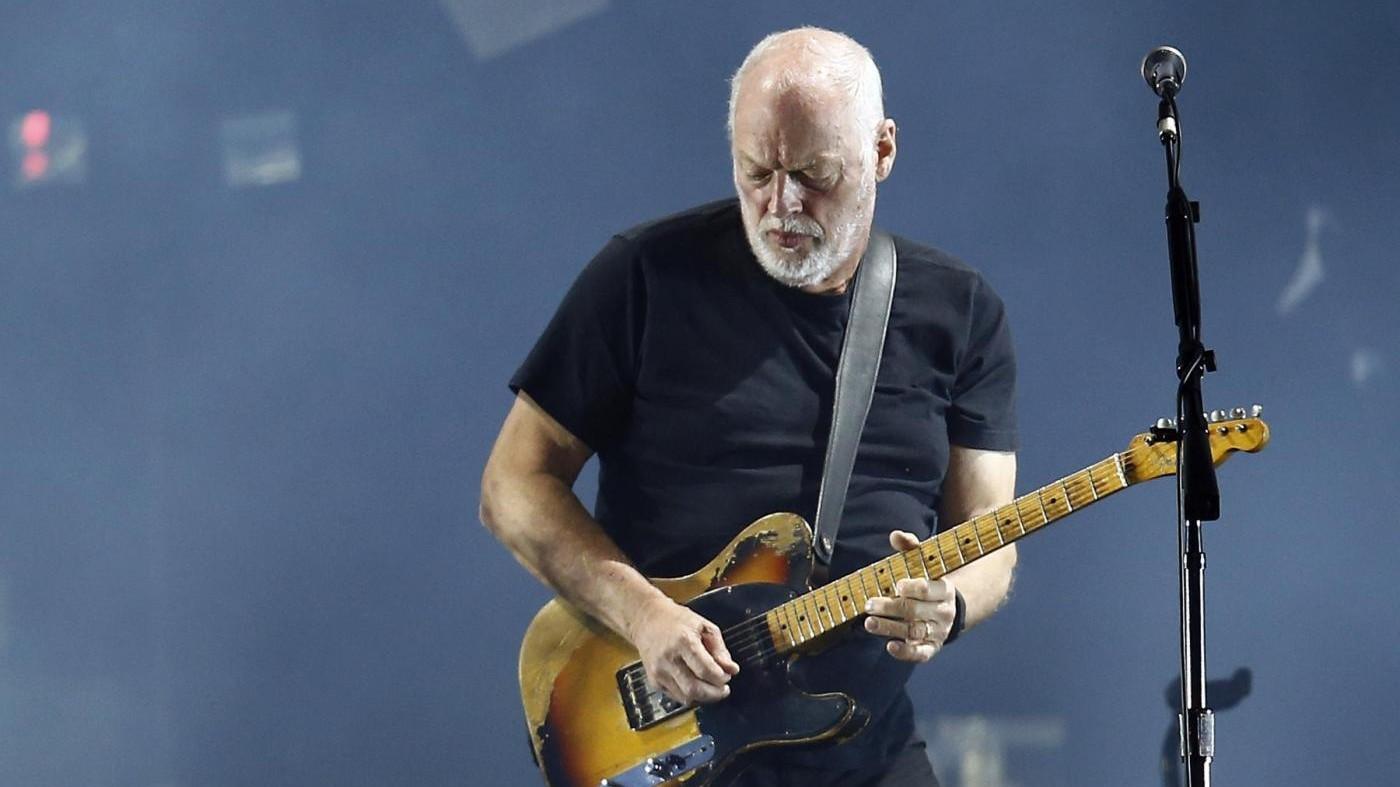 David Gilmour dei Pink Floyd torna a Pompei 45 anni dopo
