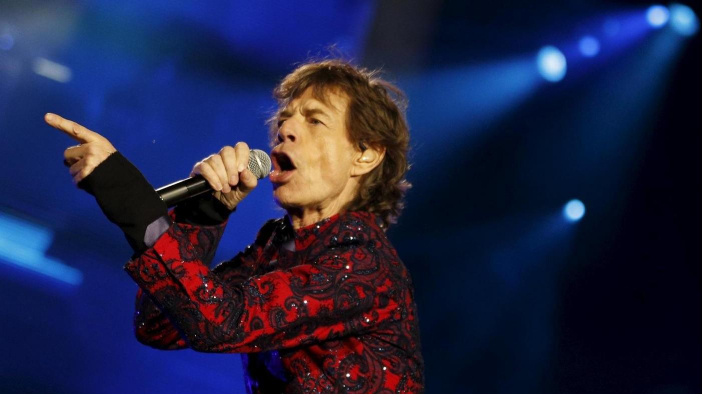 Mick Jagger in Messico contro Trump su muro confine
