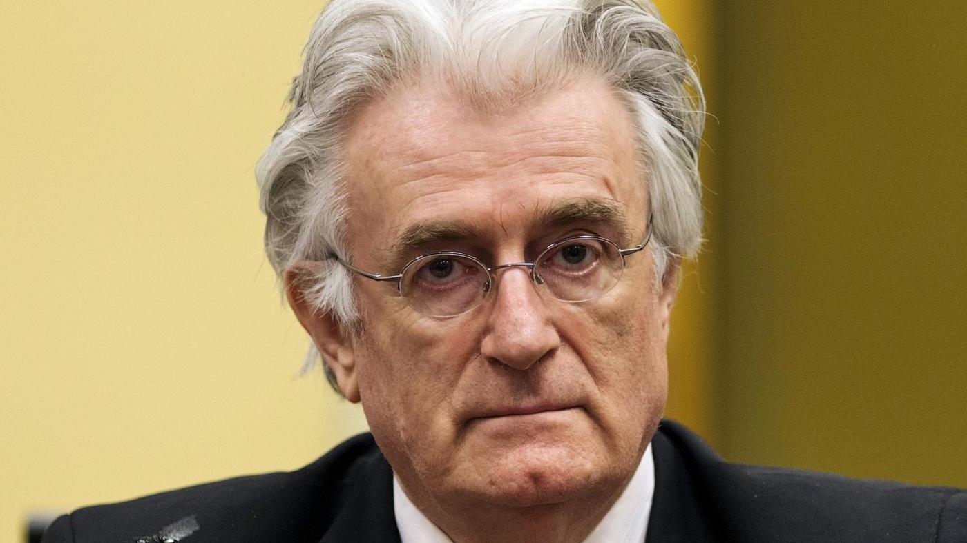 L'Aja condanna Karadzic per massacro di Srebrenica