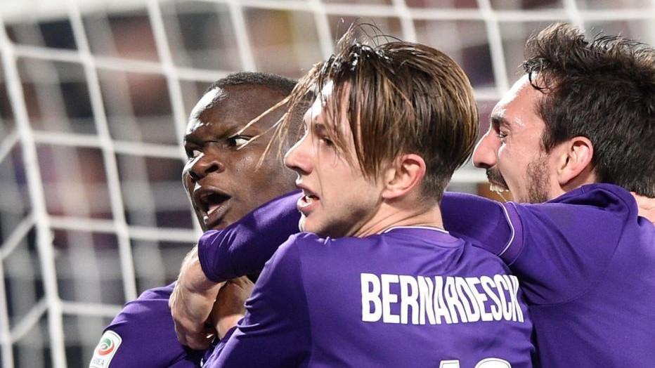 Borja-Babacar rimontano Inter: Viola, vittoria da Champions