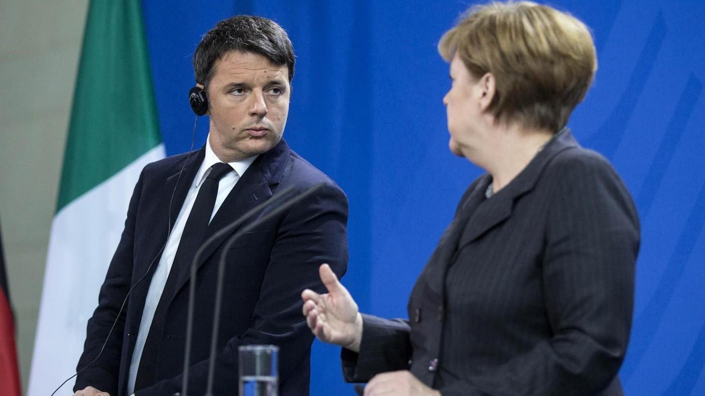 Ue, Renzi: Veto a proposta tedesca. Nuova sfida Roma-Berlino