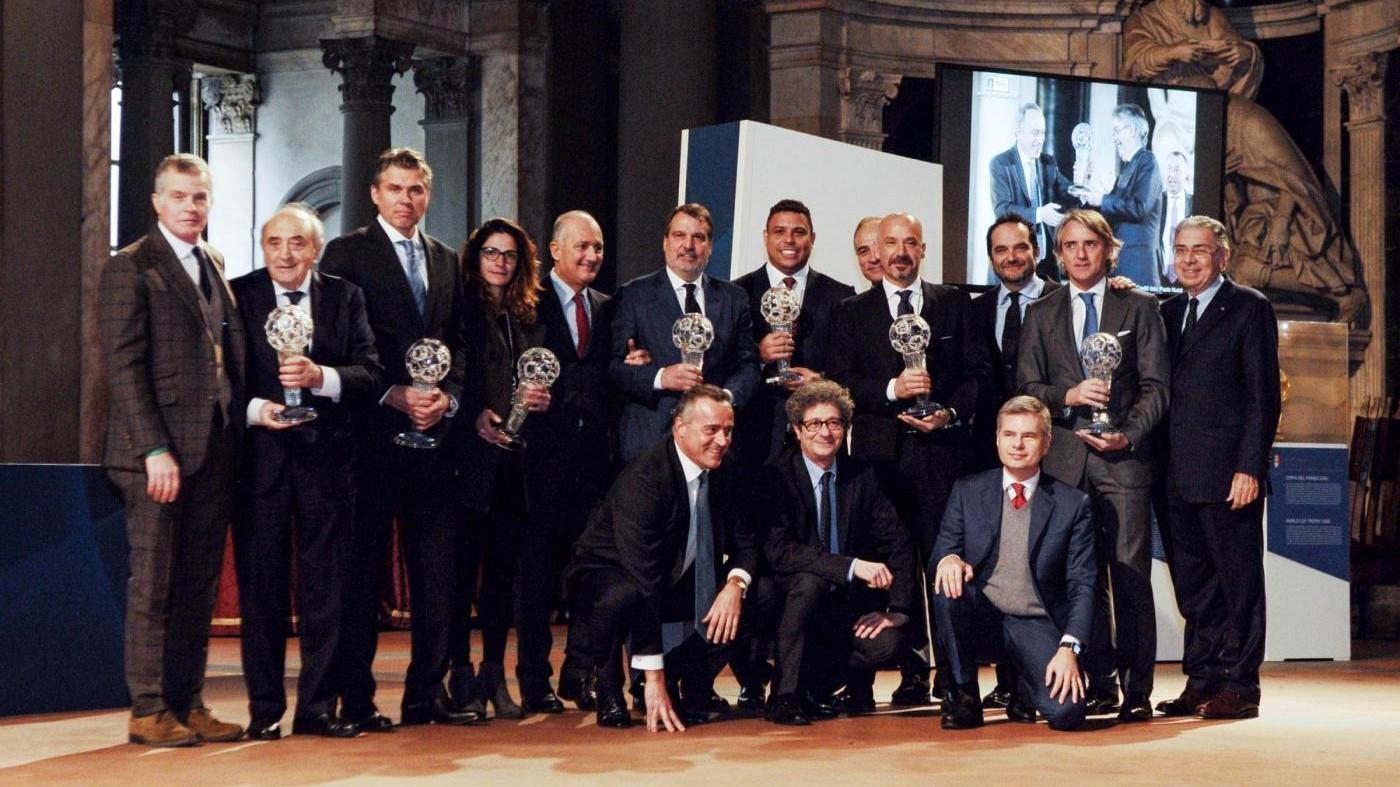 Il caso Totti divide i big a Firenze per 'Hall of fame'
