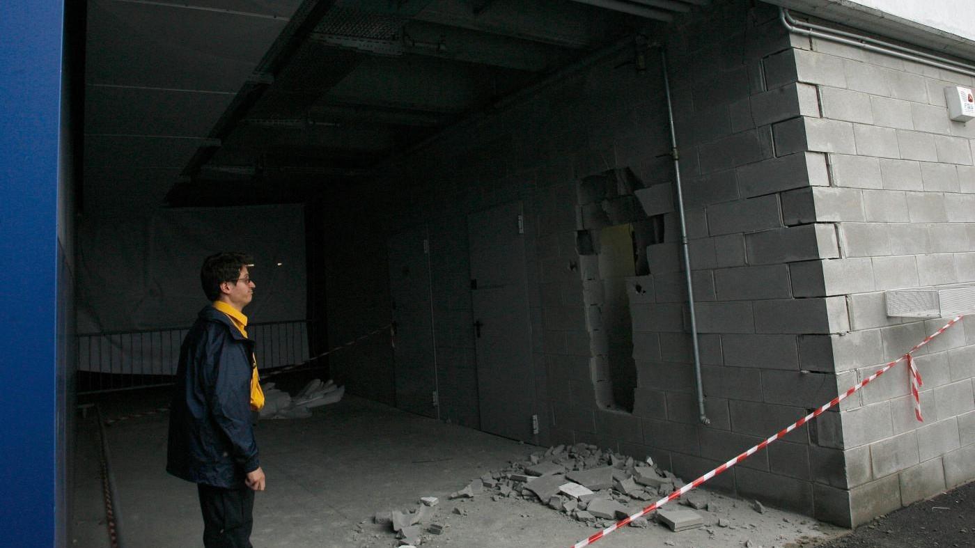 Sassari, assalto a caveau: bottino da 10 milioni di euro
