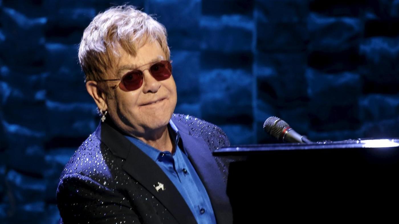 Elton John suonerà a Pompei il prossimo 12 luglio