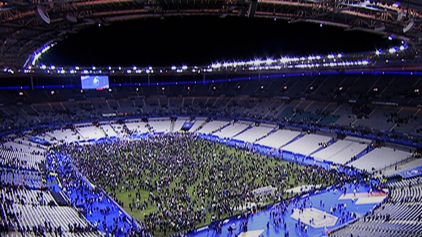 Lo Stade de France riapre per il rugby tre mesi dopo gli attacchi
