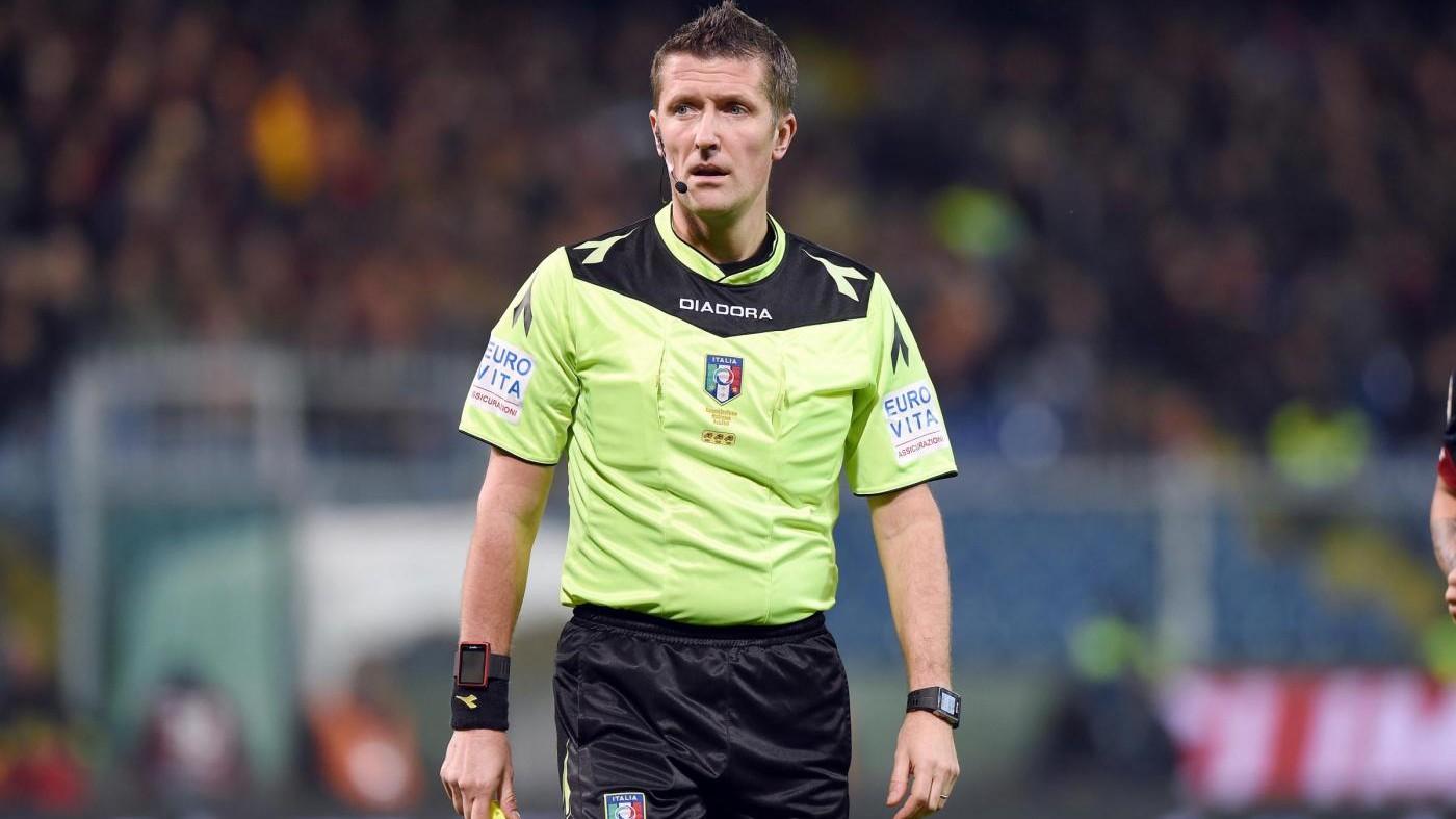 Rizzoli out, Orsato dirigerà Juventus-Napoli