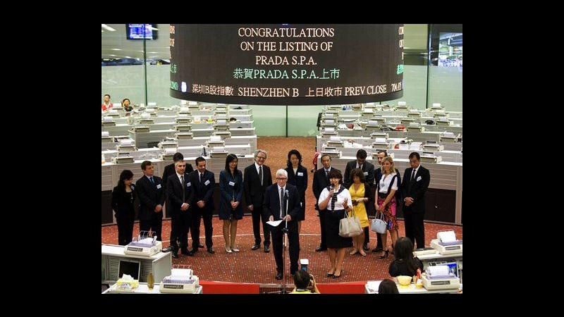 Prada, Ipo tiepida: debutto a Hong Kong in lieve rialzo