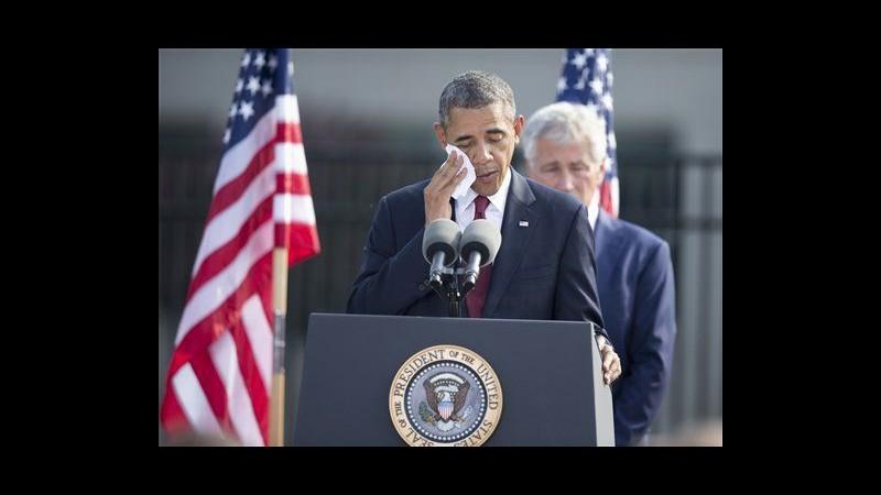11 settembre, Obama: Forza non basta a creare mondo che vogliamo