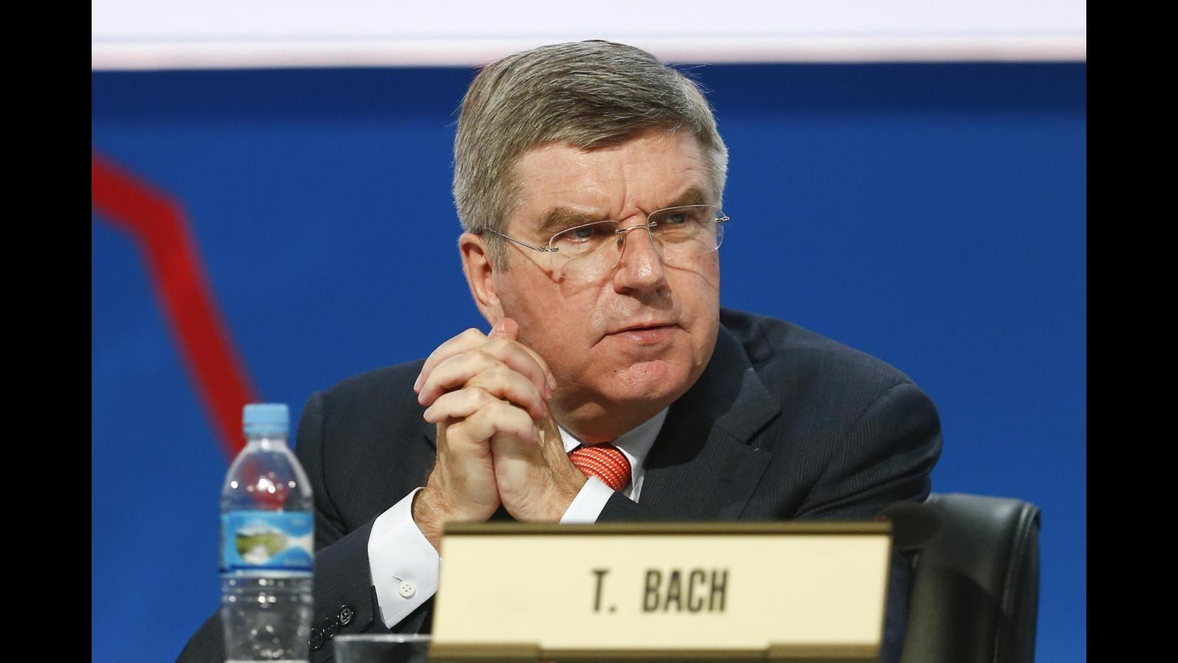 Tedesco Thomas Bach eletto nuovo presidente del Cio. Malagò: Con lui si apre una nuova era