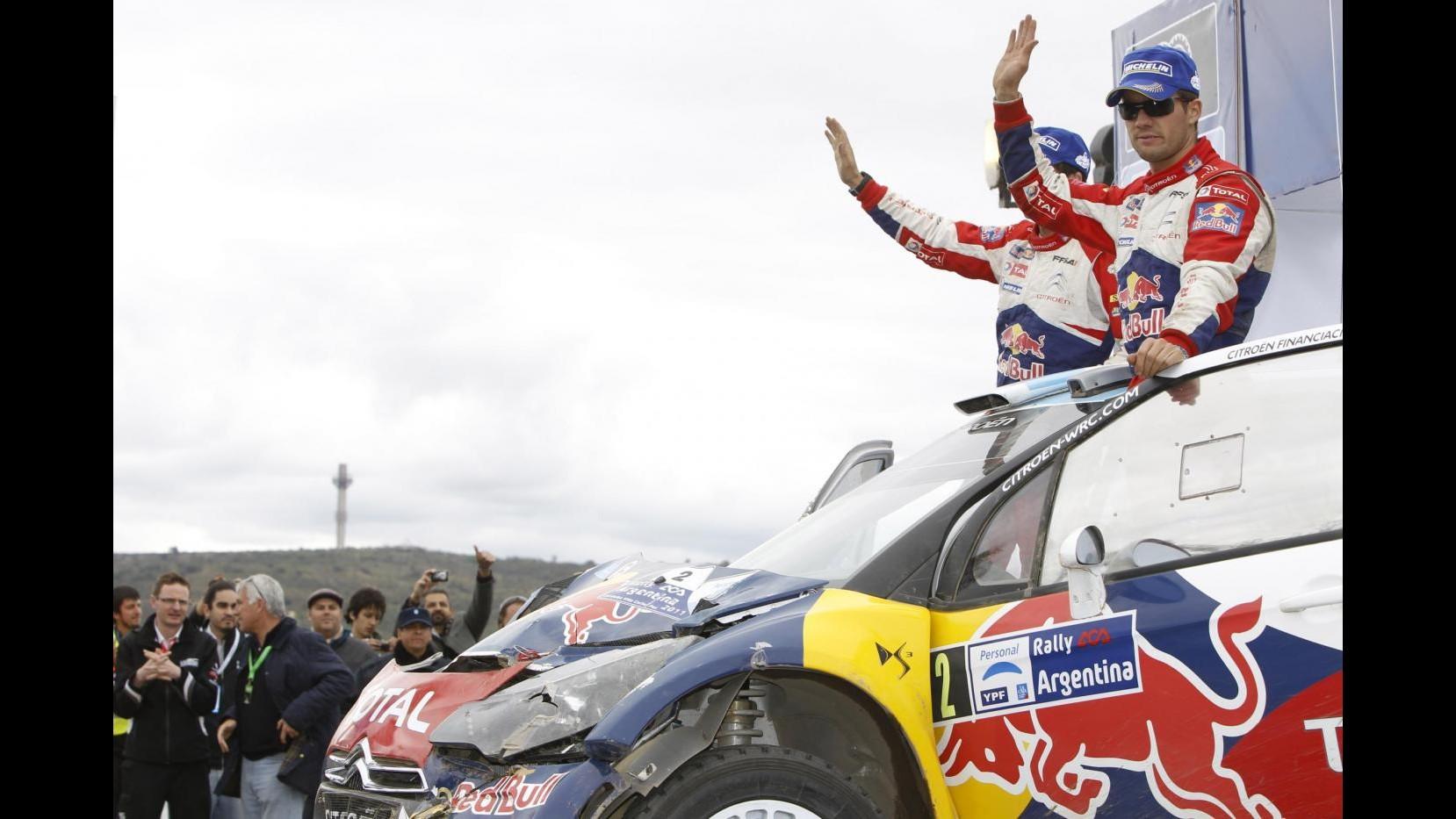 Motori, Ogier vince il Rally dell'Acropoli, Loeb è secondo
