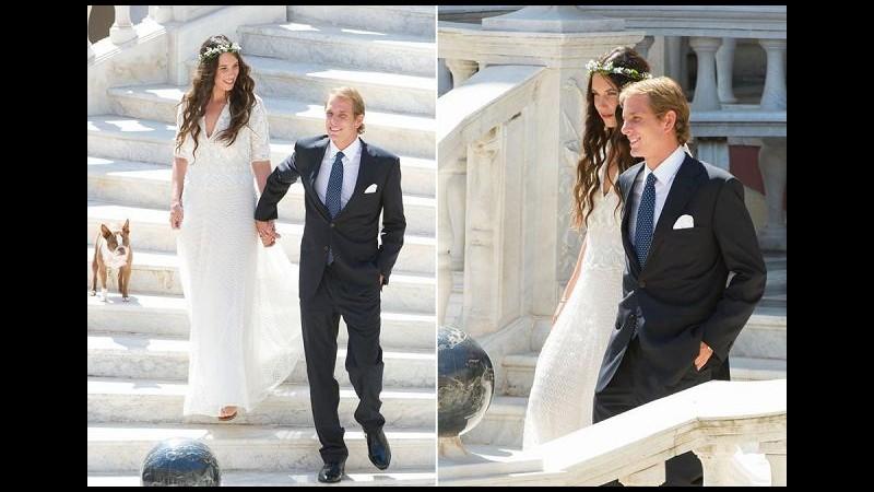 Andrea Casiraghi e Tatiana Santo Domingo sposi 'in privato'