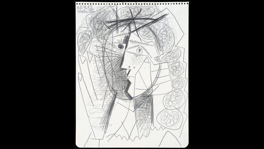 Rubato a San Francisco il disegno Tête de Femme di Pablo Picasso