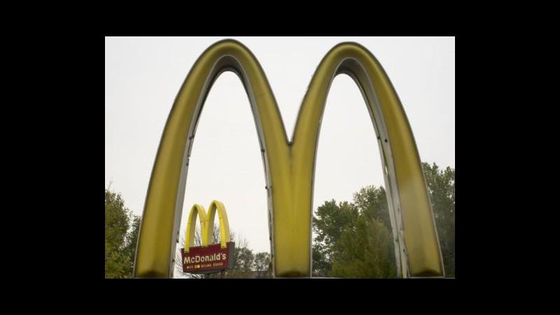 McDonald's, a ottobre vendite +5,2% negli Usa e +4,8% in Europa