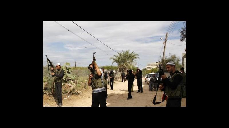 Israele rimanda attacco a Gaza, Egitto può mediare fino a mezzanotte