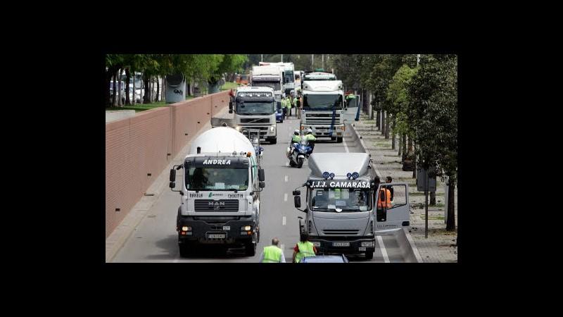 Acea: Domanda veicoli commerciali Ue +25% maggio, in Spagna unico calo