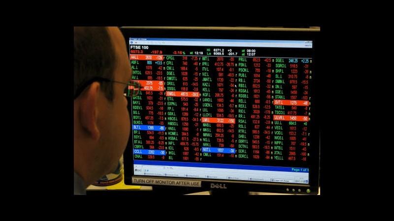 Borse europee: Francoforte -0,19%, Parigi +0,31%, Londra +0,43%