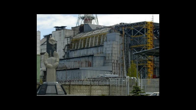 Chernobyl, ok donazioni per il sarcofago