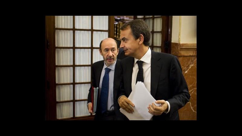 Spagna, Camacho nuovo ministro Interno dopo dimissioni Rubalcaba