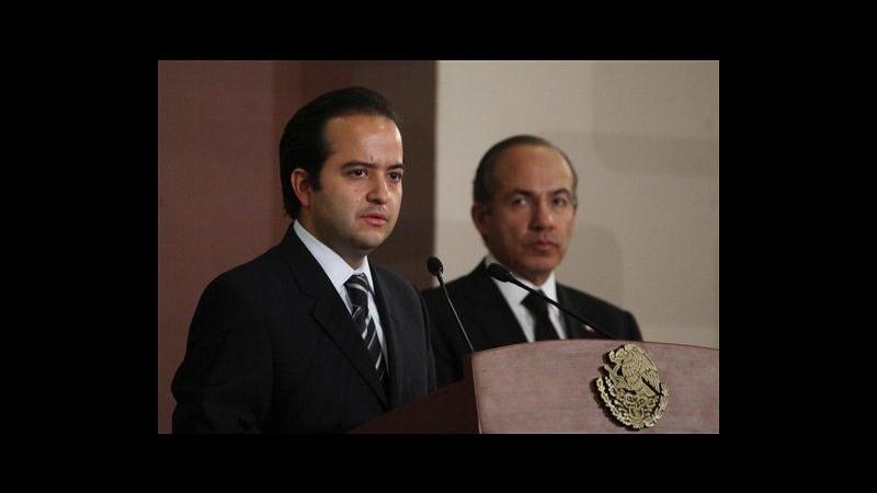 Messico,ex capo intelligence nominato ministro Interno dopo morte Mora