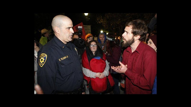 Occupy Wall Street, irruzione in banca a San Francisco: 95 arresti