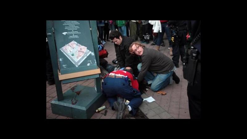 Occupy Wall Street,uomo trovato morto in accampamento università Texas