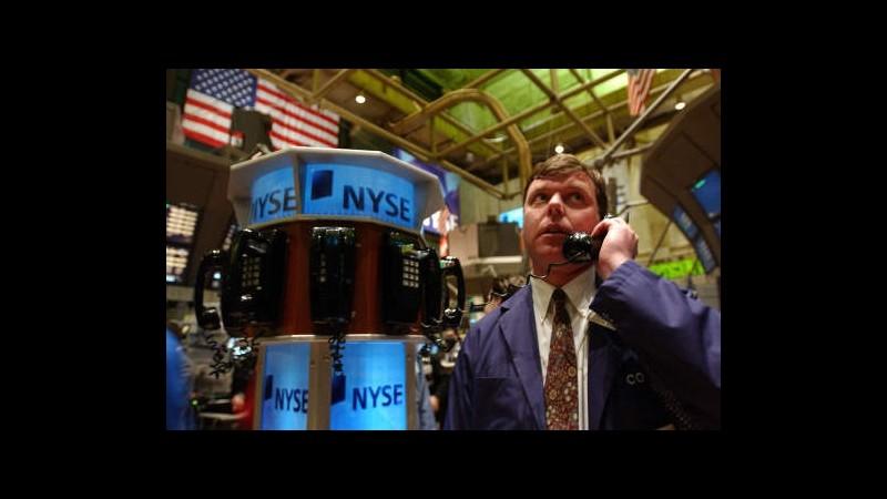 Chiusura positiva per Wall Street, Dow Jones +3,97%