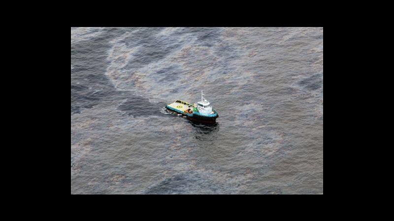 Brasile,governo: Macchia petrolio dopo pedita Chevron ridotta dell'80%