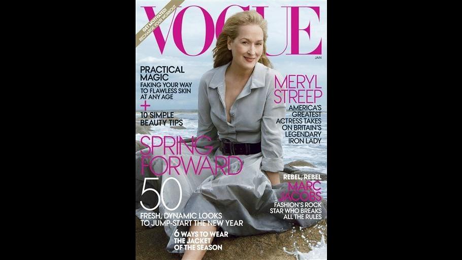 Meryl Streep sulla copertina di Vogue per la prima volta