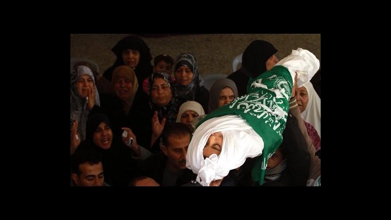 Israele lancia missile su Gaza: feriti una 12enne e il padre