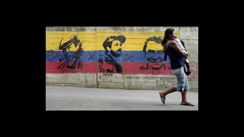 Colombia, Farc: Presto liberi sei ostaggi detenuti da oltre 10 anni