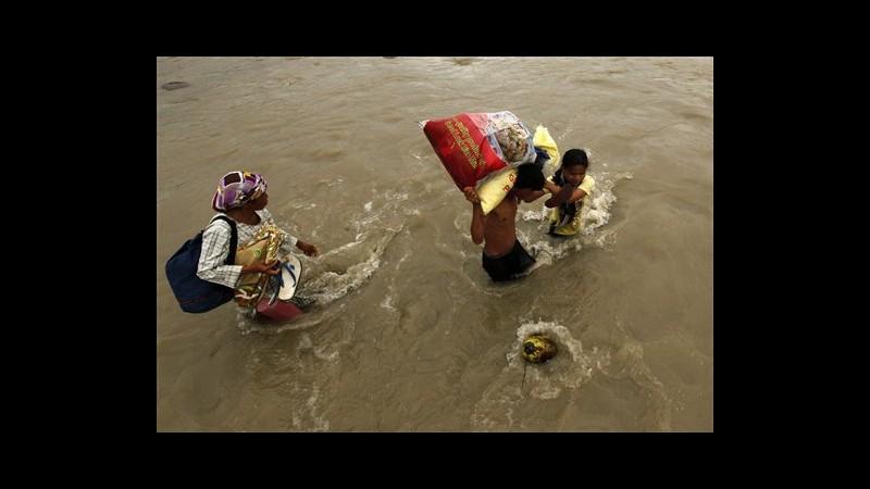 Filippine, 1.249 i morti per la tempesta tropicale Washi