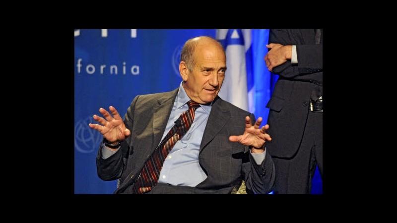 Israele, ex premier Olmert di nuovo accusato di corruzione