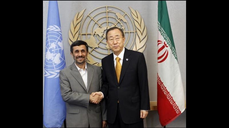 Iran, Ban Ki-moon: Unica strada è risoluzione pacifica tramite dialogo